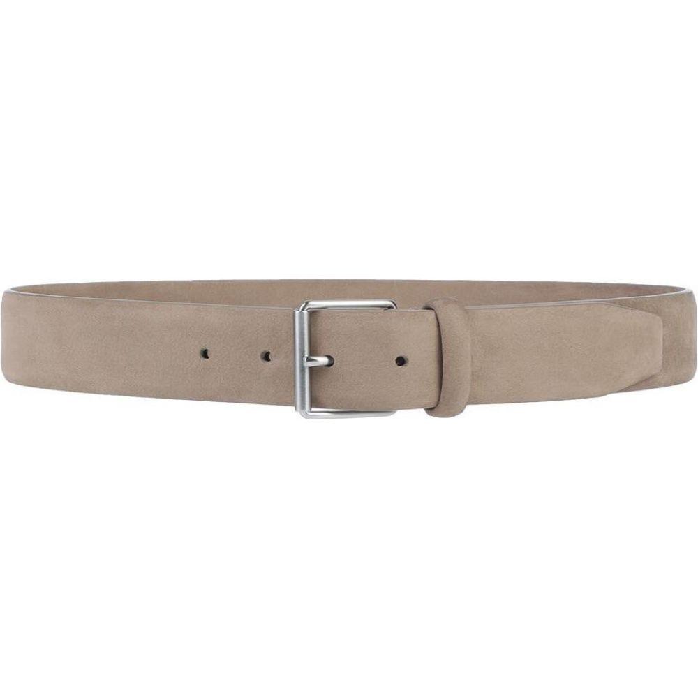 アンダーソンズ ANDERSON'S メンズ ベルト 【leather belt】Beige