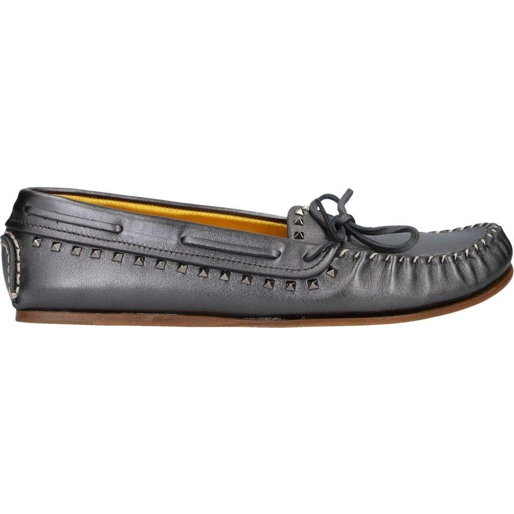 ヴァレンティノ VALENTINO GARAVANI メンズ ローファー シューズ・靴【loafers】Steel grey