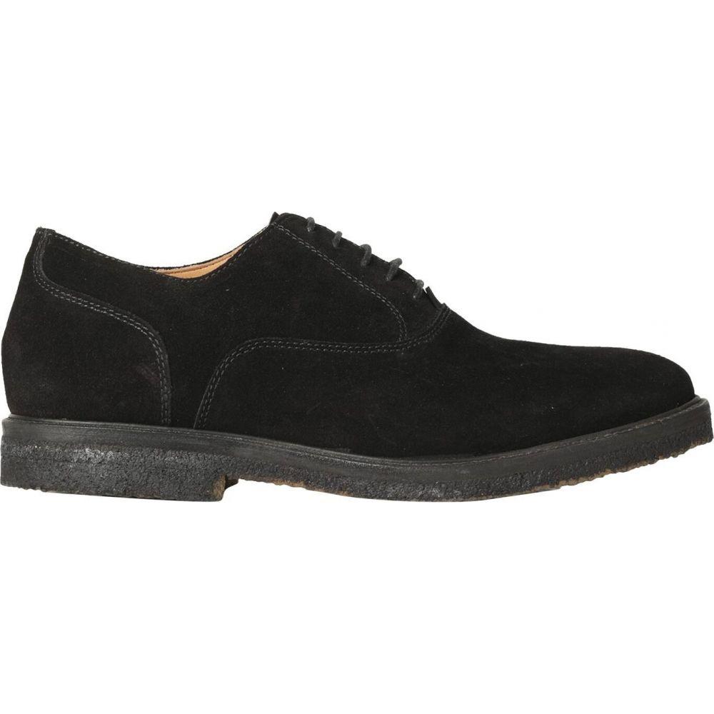 ウィラ THE WILLA メンズ シューズ・靴 【laced shoes】Black