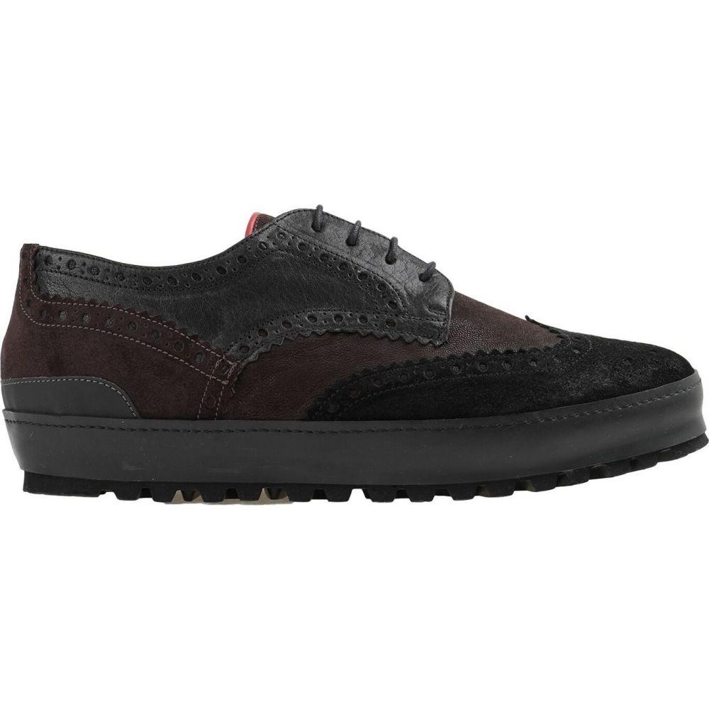 ウィラ THE WILLA メンズ シューズ・靴 【laced shoes】Dark brown