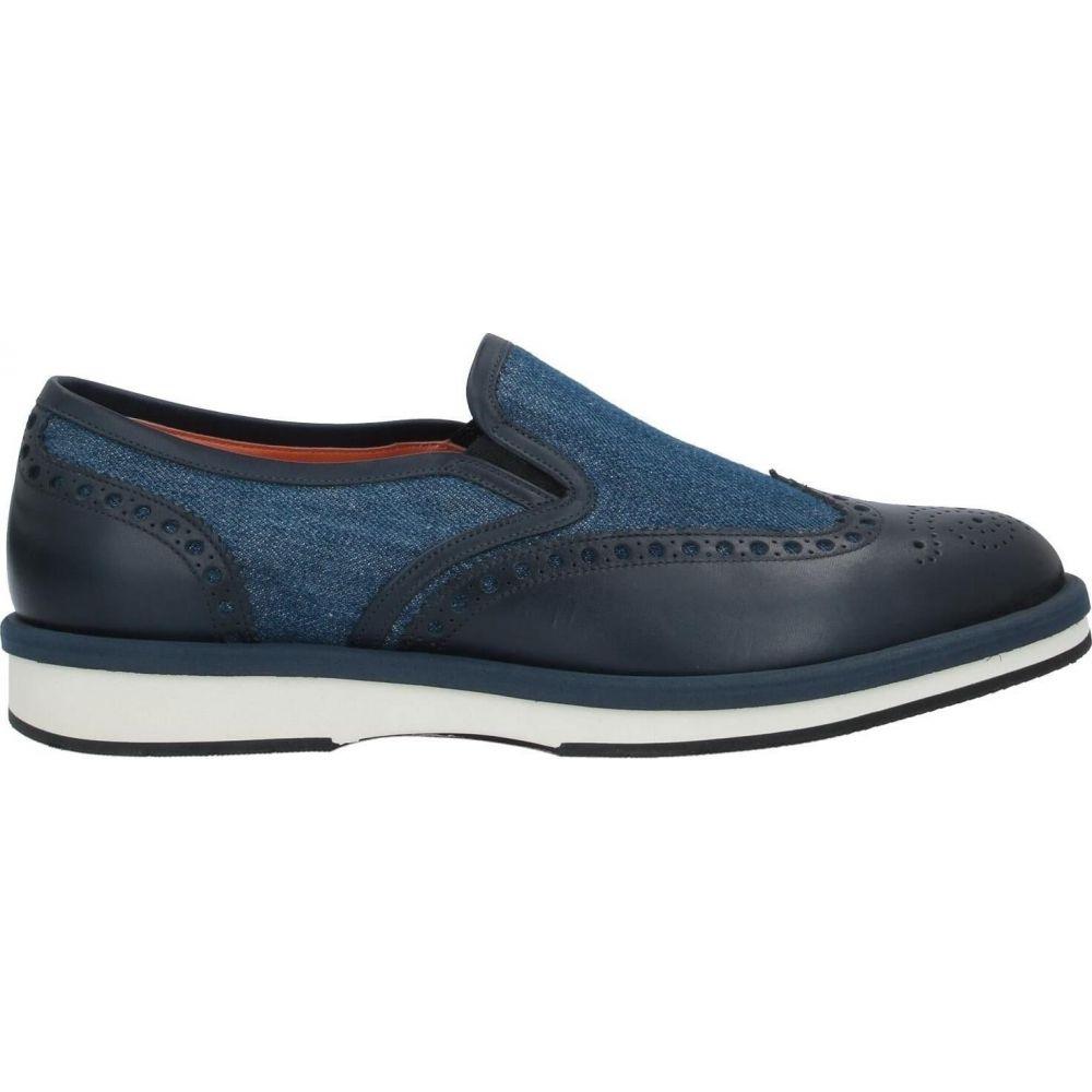 サントーニ SANTONI メンズ ローファー シューズ・靴【loafers】Blue:フェルマート