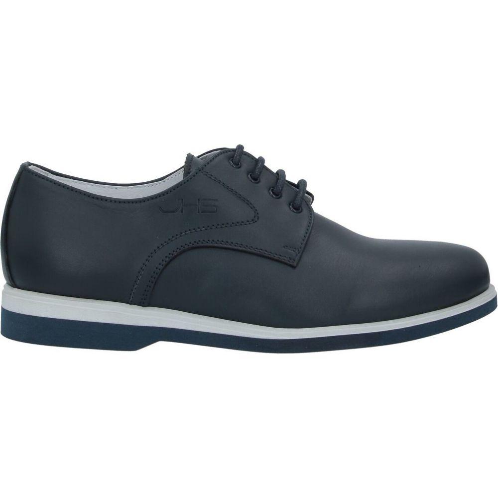 ジョン H サント JOHN H. SANTO メンズ シューズ・靴 【laced shoes】Dark blue