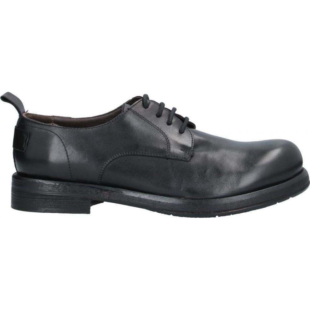 ジェイピーデビッド JP/DAVID メンズ シューズ・靴 【laced shoes】Black