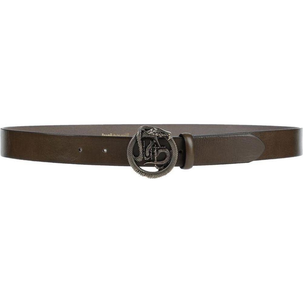 ジャスト カヴァリ JUST CAVALLI メンズ ベルト 【leather belt】Military green