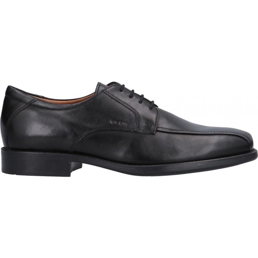 ジェオックス GEOX メンズ シューズ・靴 【laced shoes】Black