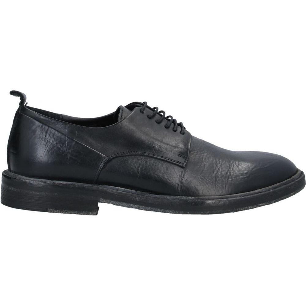 サヴィオバルバト SAVIO BARBATO メンズ シューズ・靴 【laced shoes】Black