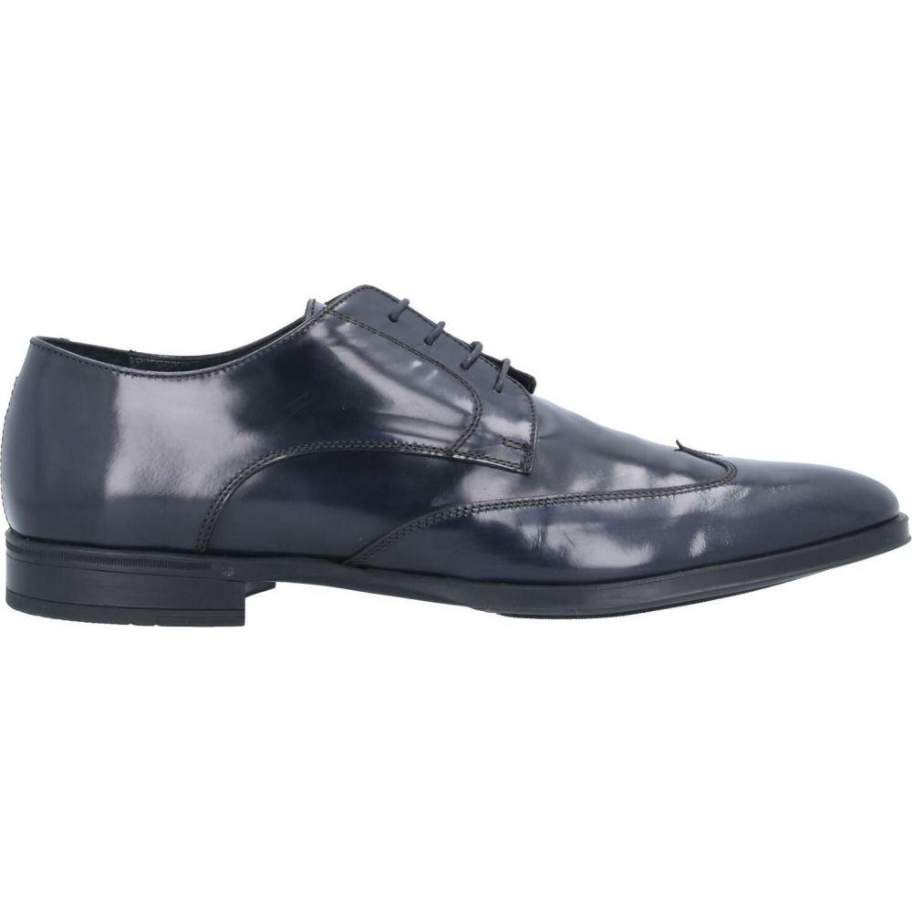 パウロダポンテ PAOLO DA PONTE メンズ シューズ・靴 【laced shoes】Dark blue