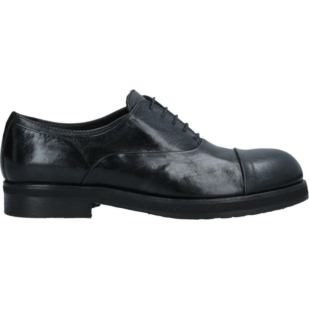 パウエルクス PAWELK'S メンズ シューズ・靴 【laced shoes】Black