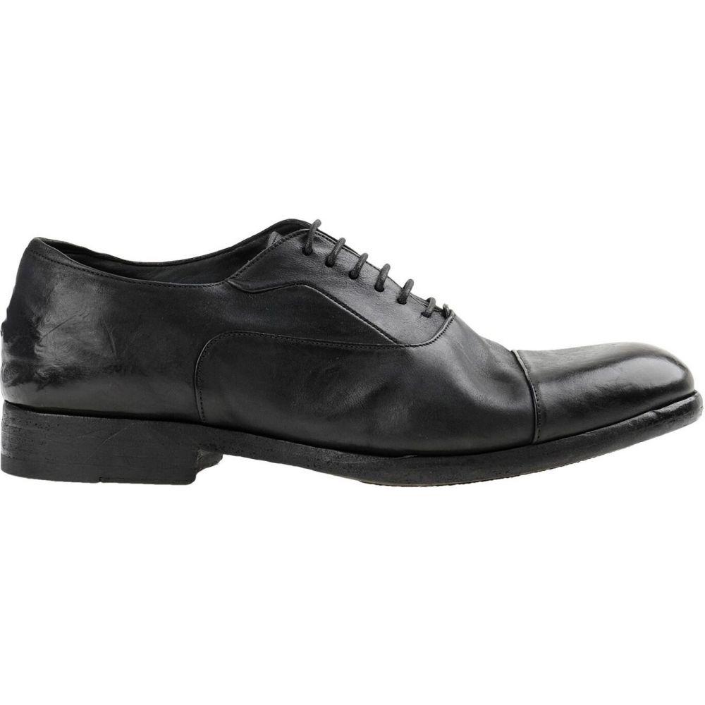 メンズ パンタネッティ シューズ・靴 shoes】Black PANTANETTI 【laced