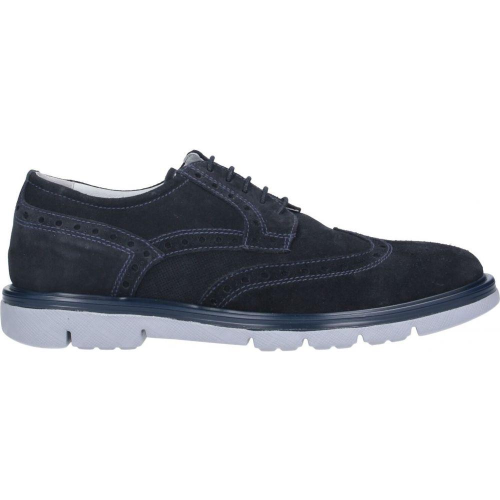 ネーロ ジャルディーニ NERO GIARDINI メンズ シューズ・靴 【laced shoes】Dark blue