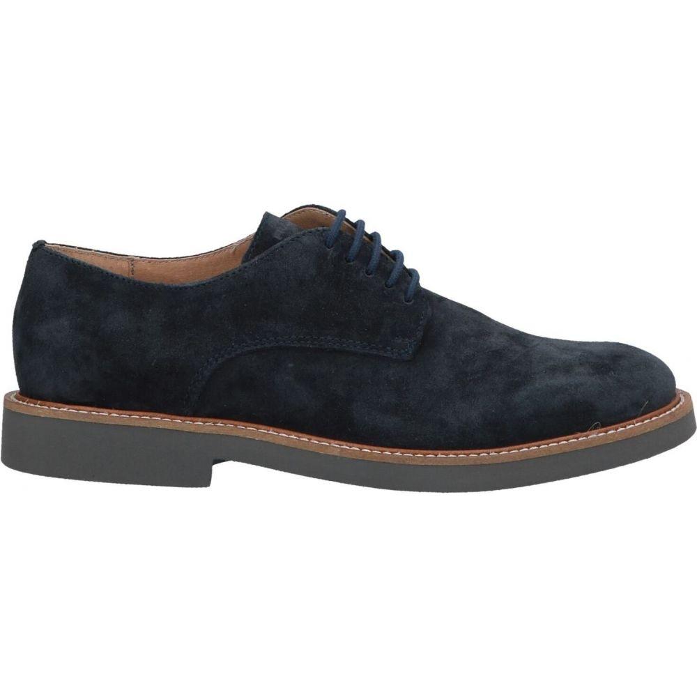 フラウ FRAU メンズ シューズ・靴 【laced shoes】Dark blue