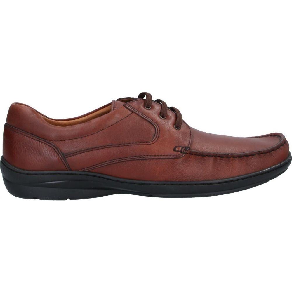ブレーキング バイ ロンチャル BRAKING BY LONCAR メンズ シューズ・靴 【laced shoes】Brown