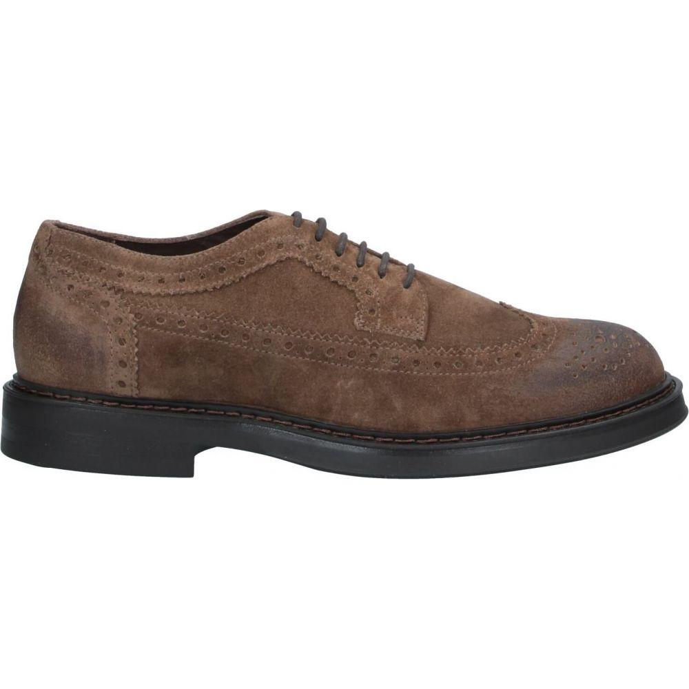 ボエモス BOEMOS メンズ シューズ・靴 【laced shoes】Khaki
