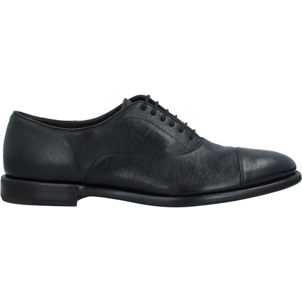 HENDERSON メンズ ヘンダーソン BARACCO シューズ・靴 バラッコ shoes】Black 【laced