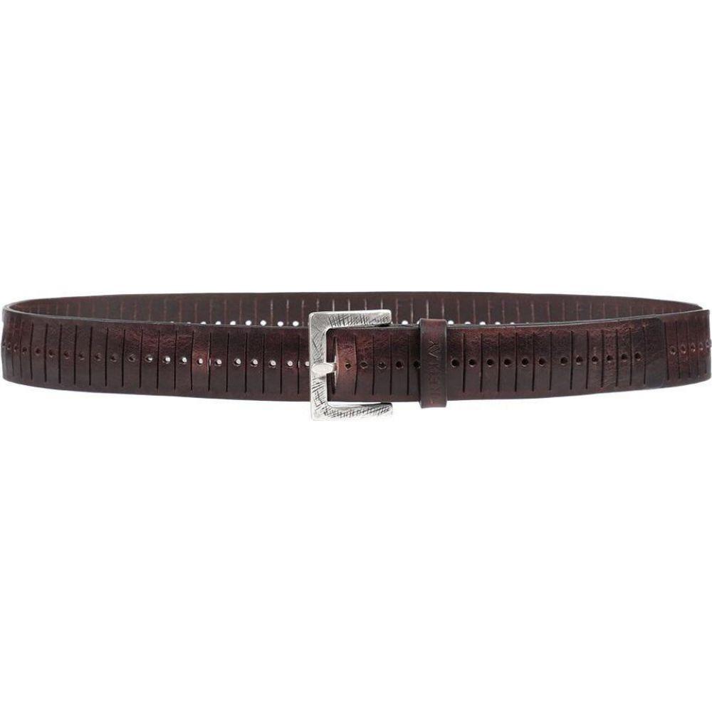 リプレイ REPLAY メンズ ベルト 【leather belt】Dark brown