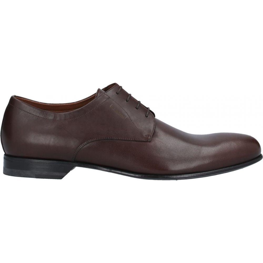 <title>ア テストーニ メンズ シューズ 靴 その他シューズ Dark brown 人気海外一番 サイズ交換無料 A.TESTONI laced shoes</title>