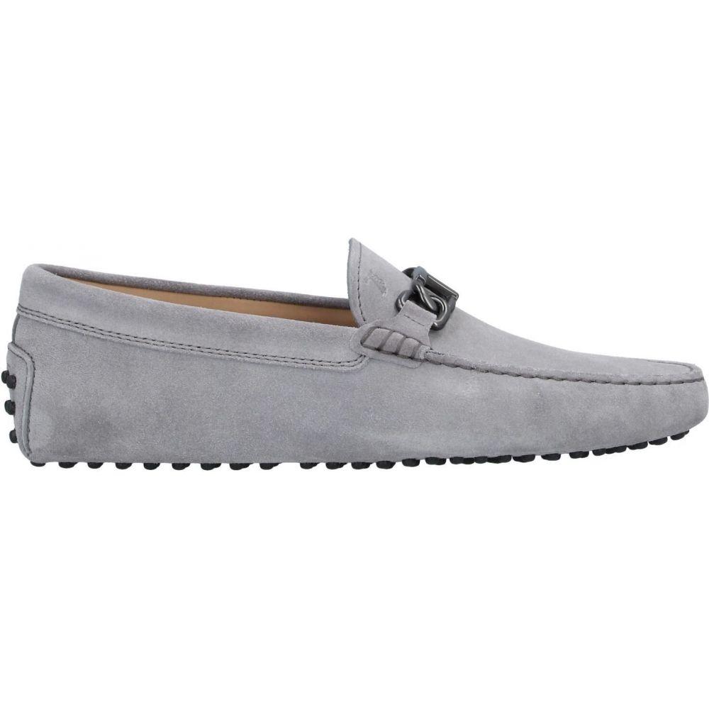 <title>トッズ メンズ シューズ 靴 ローファー Light grey サイズ交換無料 TOD'S 特価品コーナー☆ loafers</title>