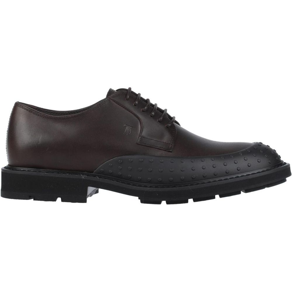 トッズ メンズ シューズ 公式ショップ 靴 その他シューズ Dark 新品 laced brown TOD'S サイズ交換無料 shoes