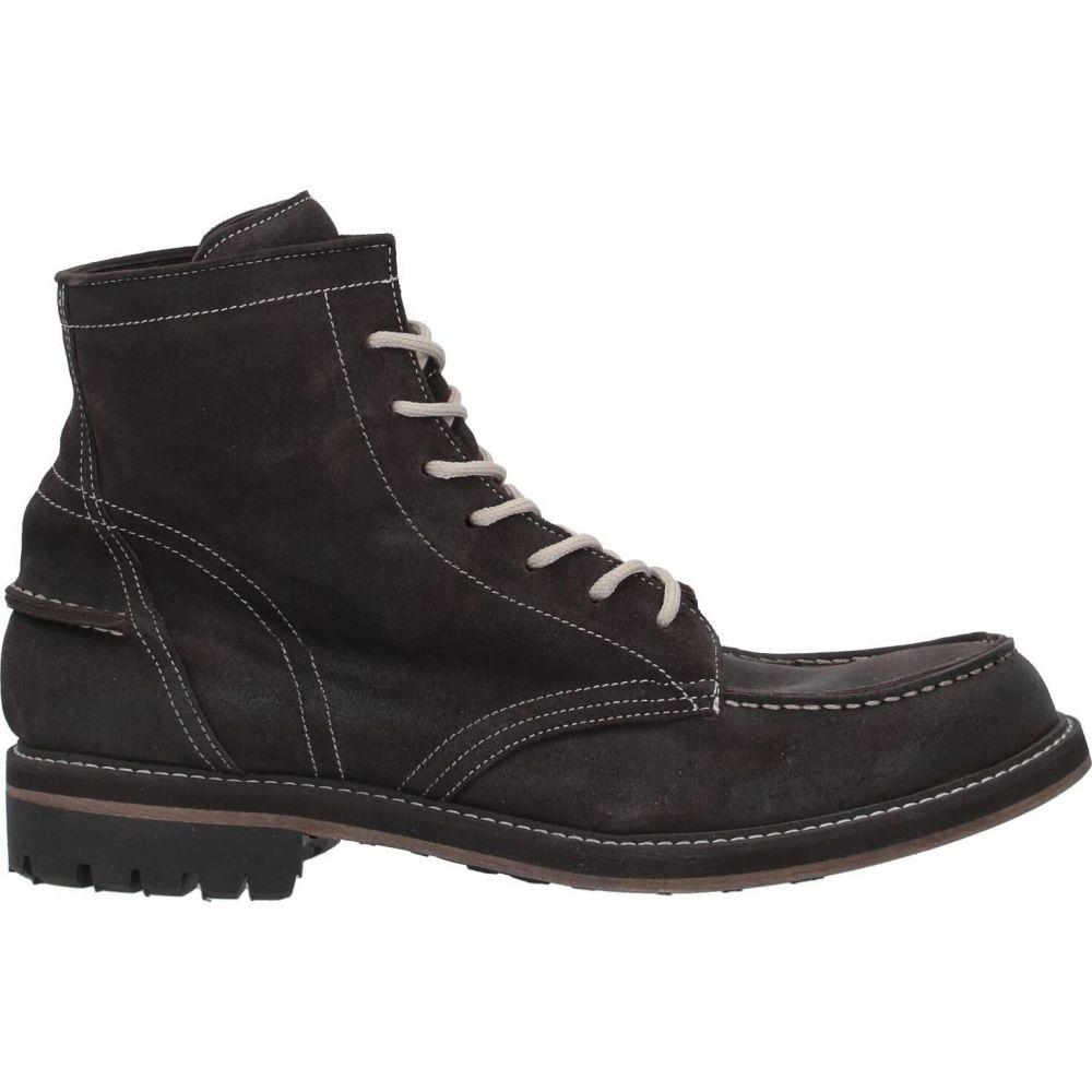 メンズ PREVENTI brown シューズ・靴【boots】Dark ブーツ プレヴェンティ