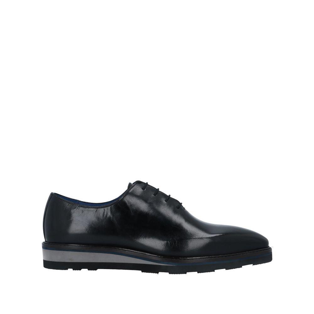 ステファノ ブランキーニ TROFEO by STEFANO BRANCHINI メンズ シューズ・靴 【laced shoes】Black