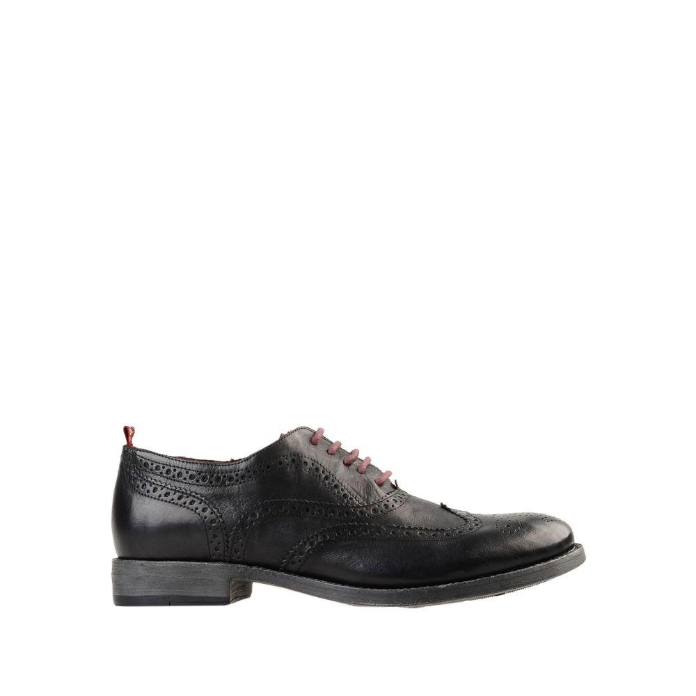 スノッブス SNOBS メンズ シューズ・靴 【laced shoes】Black