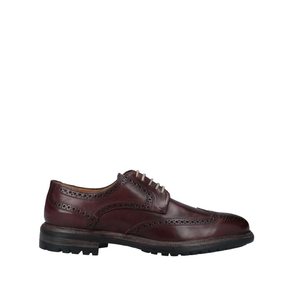 ステファノ ブランキーニ STEFANO BRANCHINI メンズ シューズ・靴 【laced shoes】Maroon