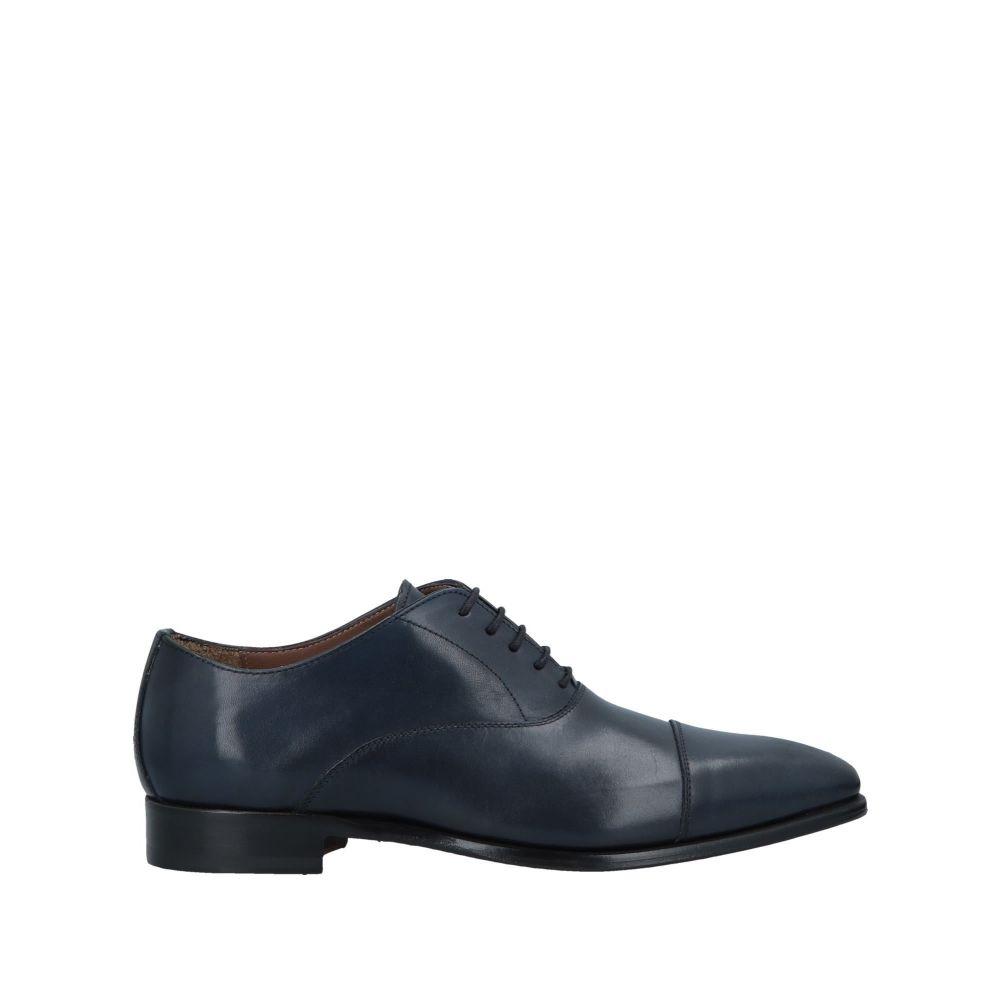 ステファノ ブランキーニ STEFANO BRANCHINI メンズ シューズ・靴 【laced shoes】Dark blue