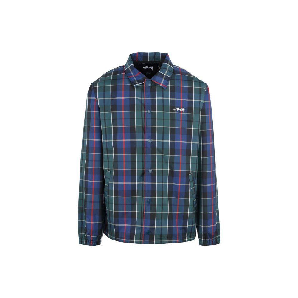 ステューシー STUSSY メンズ ジャケット コーチジャケット アウター【cruize coach jacket】Dark blue