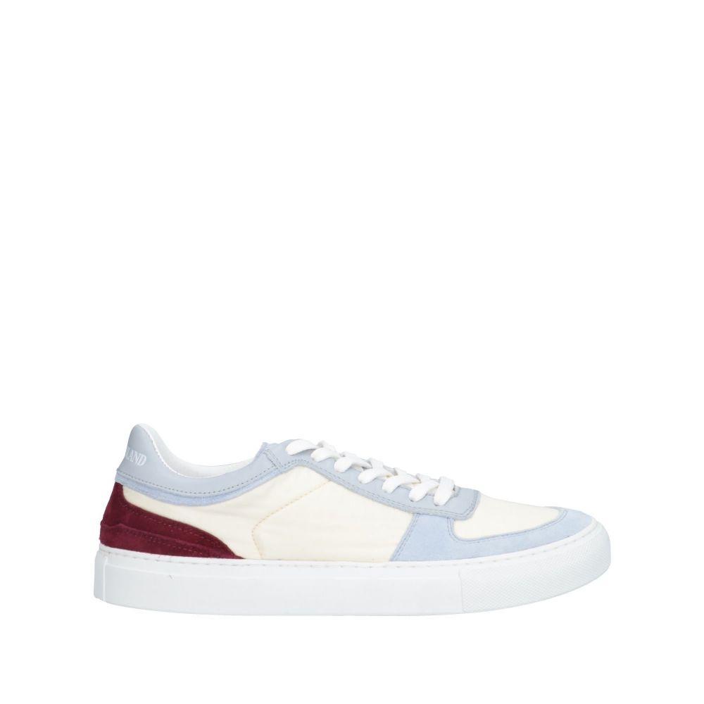 ストーンアイランド STONE ISLAND メンズ スニーカー シューズ・靴【sneakers】Ivory