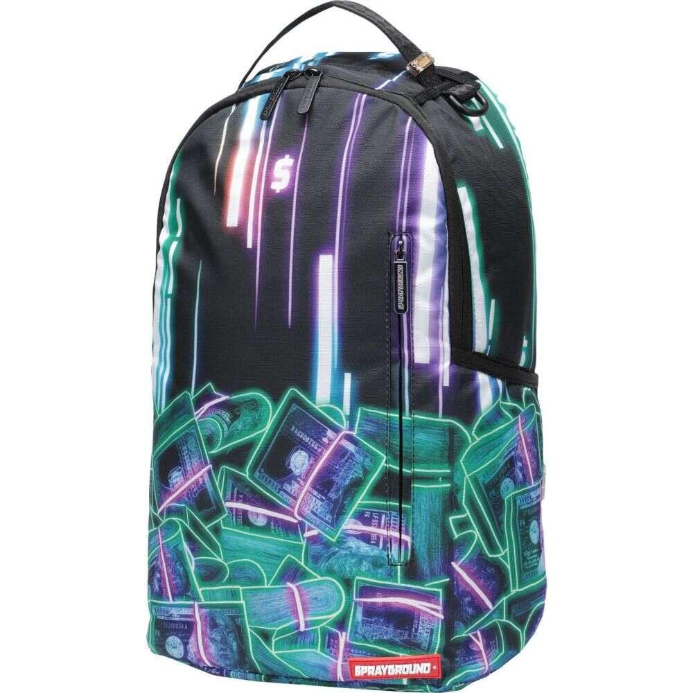 スプレイグラウンド メンズ バッグ バックパック リュック Green SPRAYGROUND Money 大放出セール Backpack Neon 注文後の変更キャンセル返品 サイズ交換無料