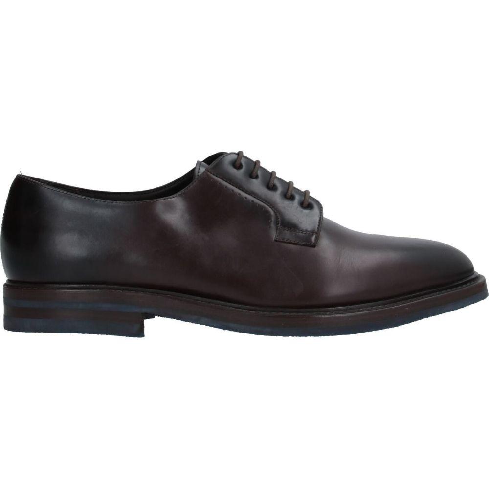 【人気急上昇】 フラテッリ ロセッティ FRATELLI ROSSETTI メンズ シューズ・靴 【laced shoes】Dark brown, mactino a58eb851