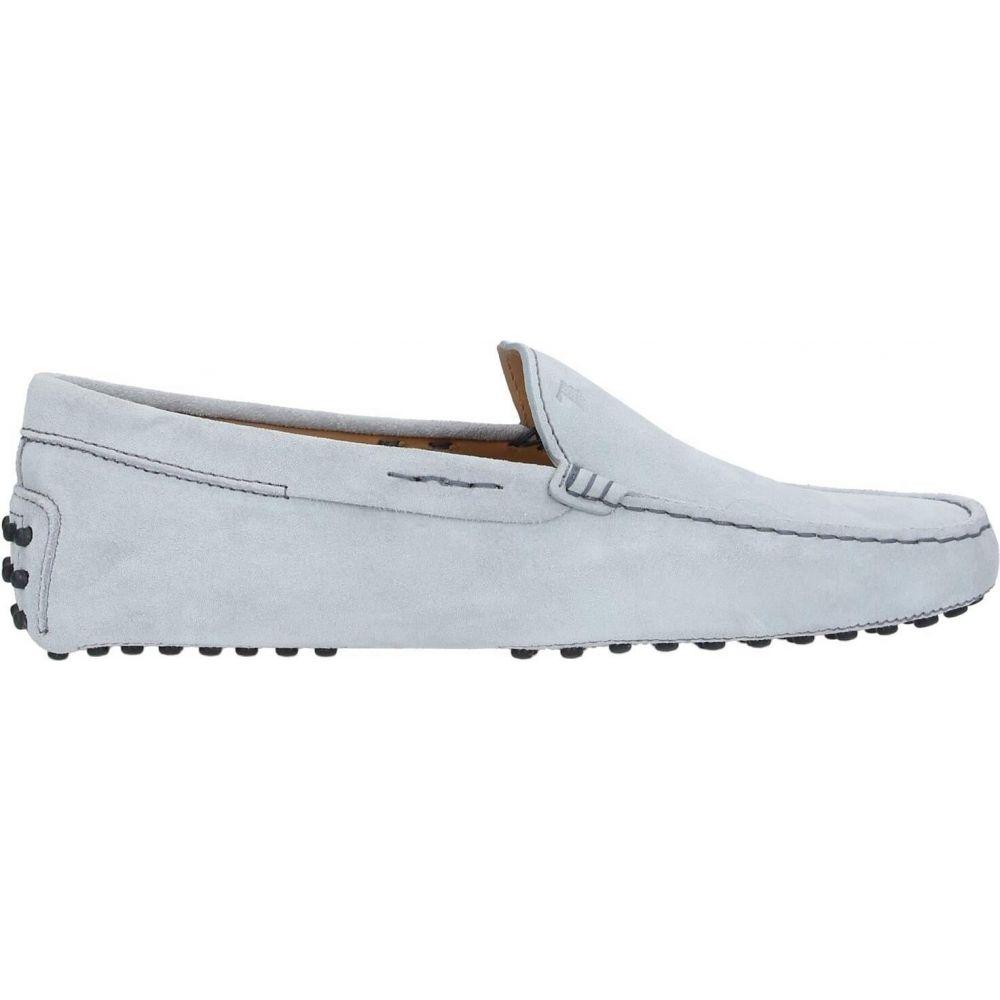 大切な トッズ TOD&39;S メンズ ローファー シューズ・靴【loafers】Light grey, 激安オーダーブラインド専門店 524b6b35