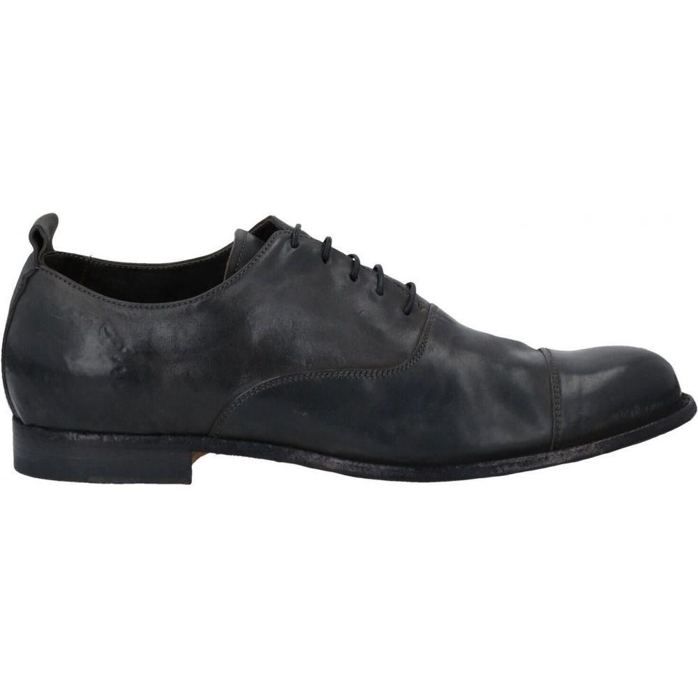 オフィチーネ クリエイティブ メンズ シューズ 靴 その他シューズ Steel ITALIA OFFICINE shoes grey CREATIVE サイズ交換無料 超目玉 倉 laced