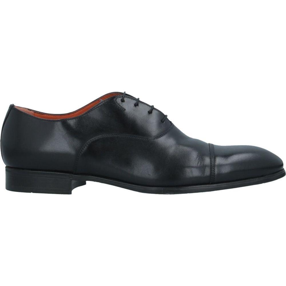 サントーニ メンズ シューズ 海外 靴 その他シューズ サイズ交換無料 SANTONI laced shoes Black 新作 人気