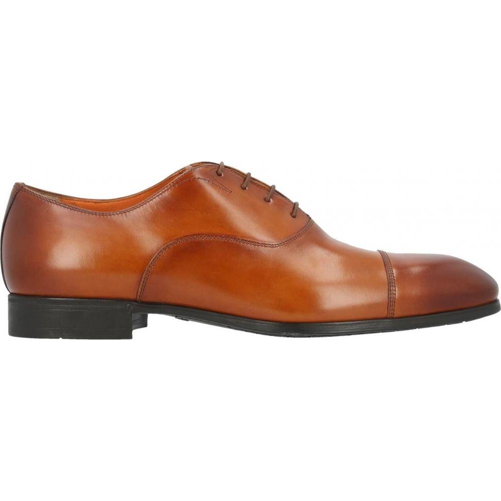 サントーニ メンズ シューズ WEB限定 靴 その他シューズ 超特価 shoes laced サイズ交換無料 Brown SANTONI