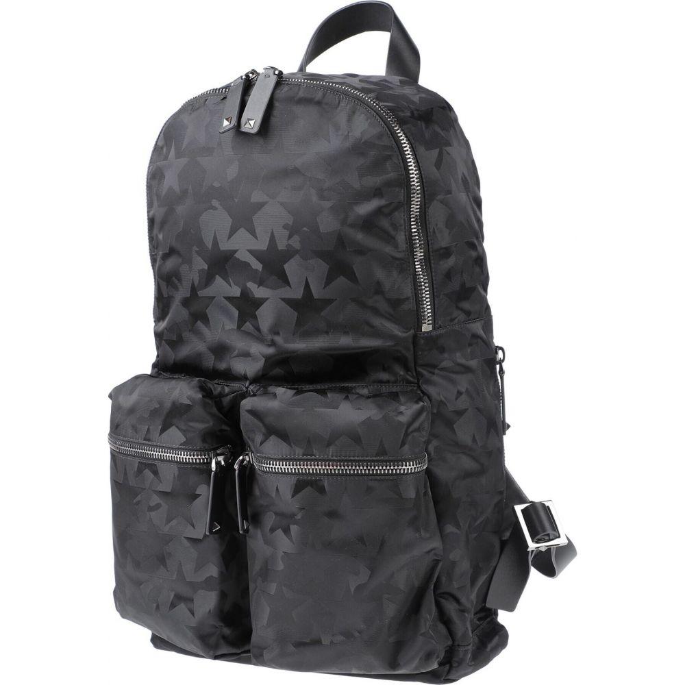 贈り物 ヴァレンティノ メンズ バッグ ボディバッグ ウエストポーチ 宅送 Black fanny GARAVANI VALENTINO pack backpack サイズ交換無料