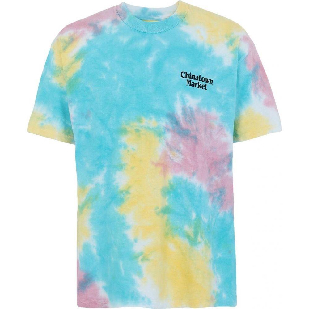 人気デザイナー チャイナタウンマーケット CHINATOWN MARKET メンズ Tシャツ トップス【lawyer t-shirt】Sky blue, 花珠真珠店 7fd4d460