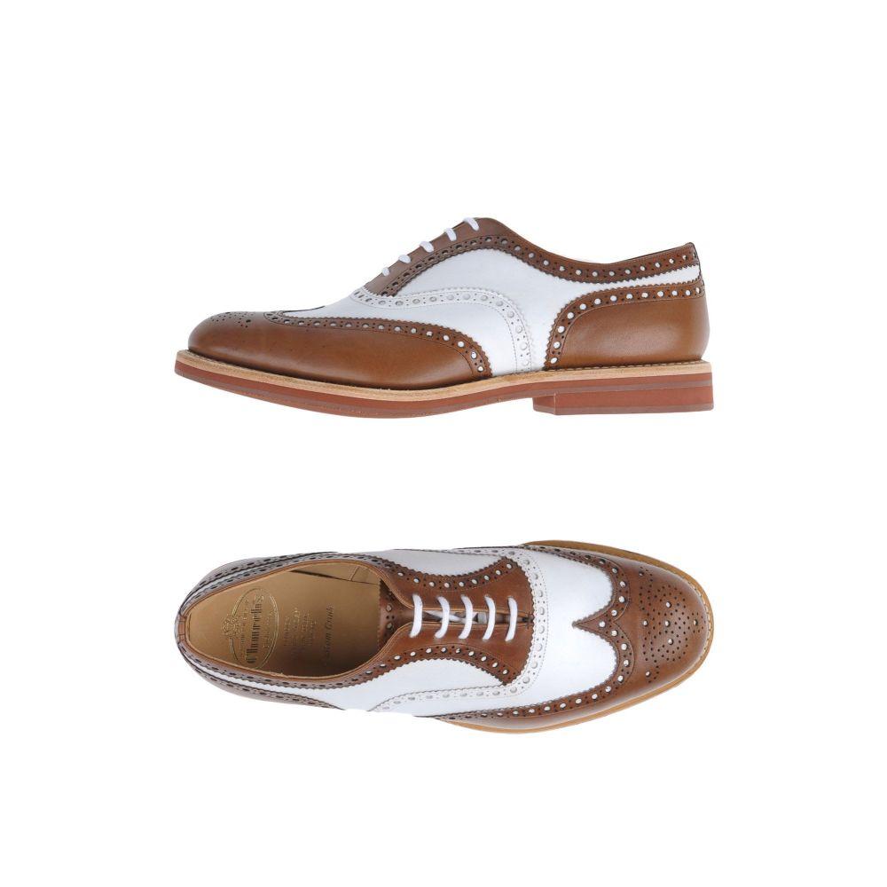 チャーチ CHURCH'S メンズ シューズ・靴 【laced shoes】Cocoa