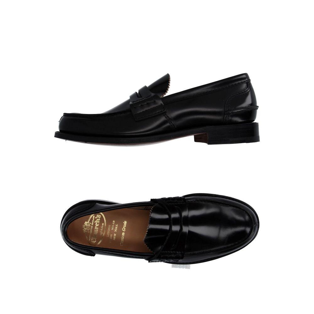 チャーチ CHURCH'S メンズ ローファー シューズ・靴【loafers】Black