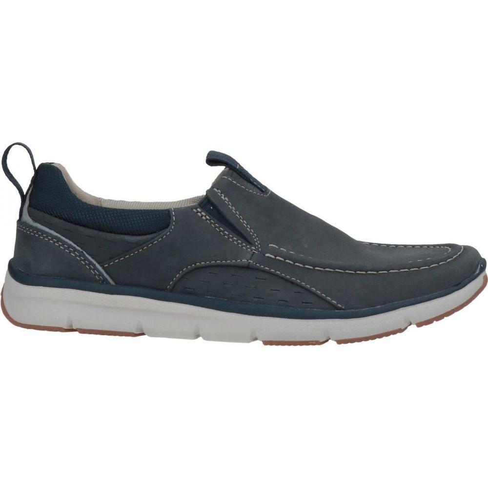 代引き人気 クラークス CLARKS メンズ ローファー シューズ・靴【loafers】Slate blue, 12g un deux galerie 82a04830