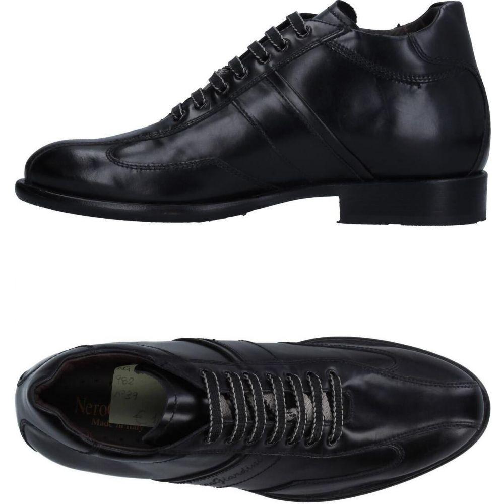直送商品 ネーロ ジャルディーニ NERO GIARDINI メンズ シューズ・靴 【laced shoes】Black, 山本人形 29e292ca