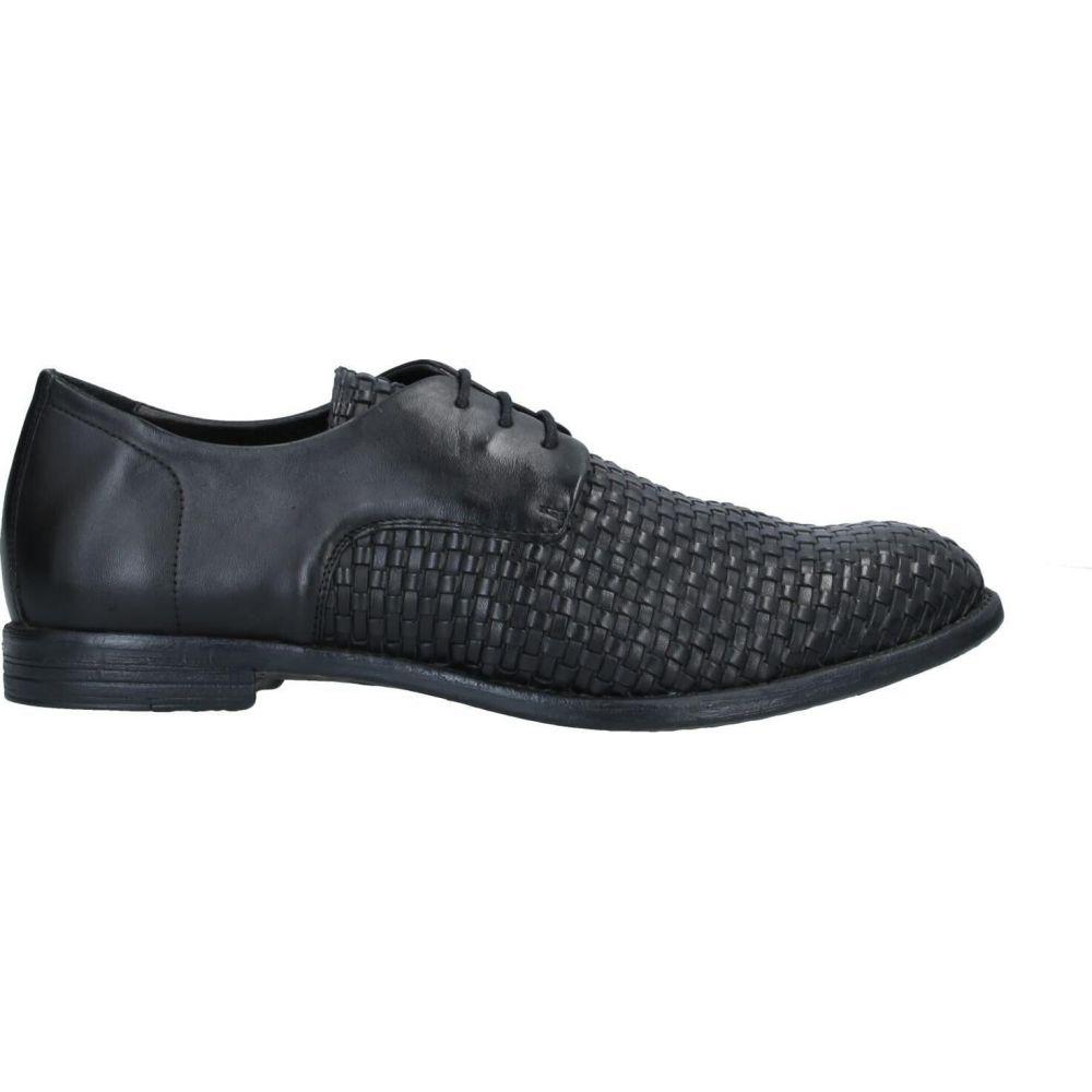 人気デザイナー ハンドレッド 100 HUNDRED 100 メンズ シューズ・靴 【laced shoes】Black, 真珠のジェルム 7c7a17a4