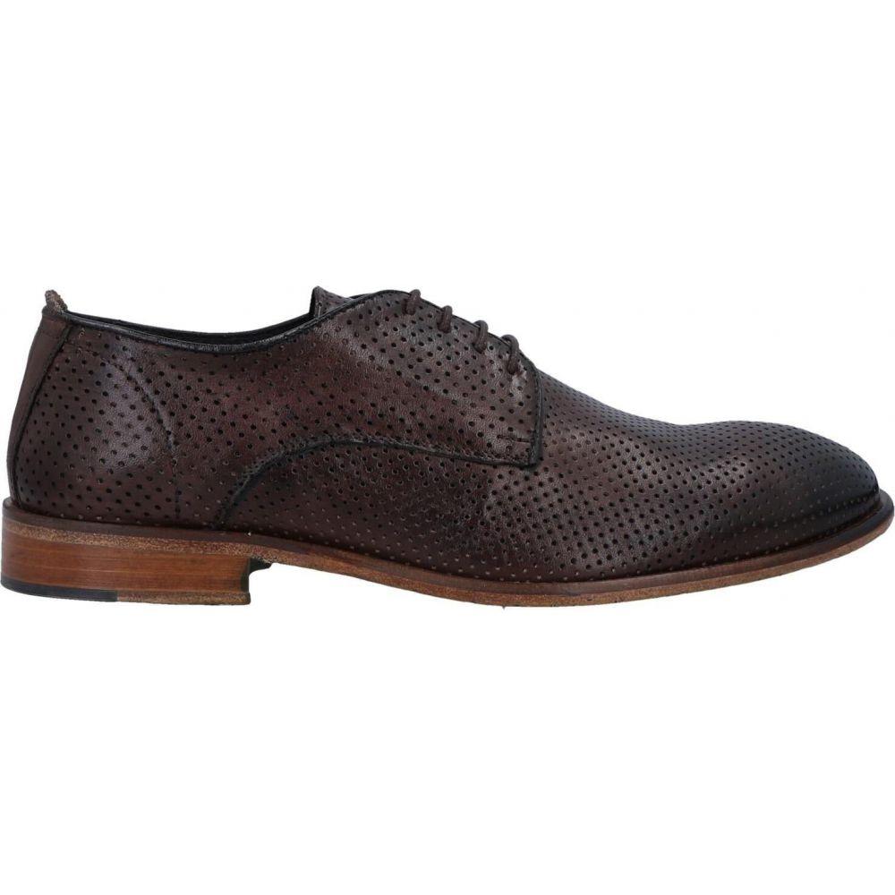 【在庫僅少】 エクストン EXTON メンズ シューズ・靴 【laced shoes】Dark brown, アットホームインテリア 7b3c32bb