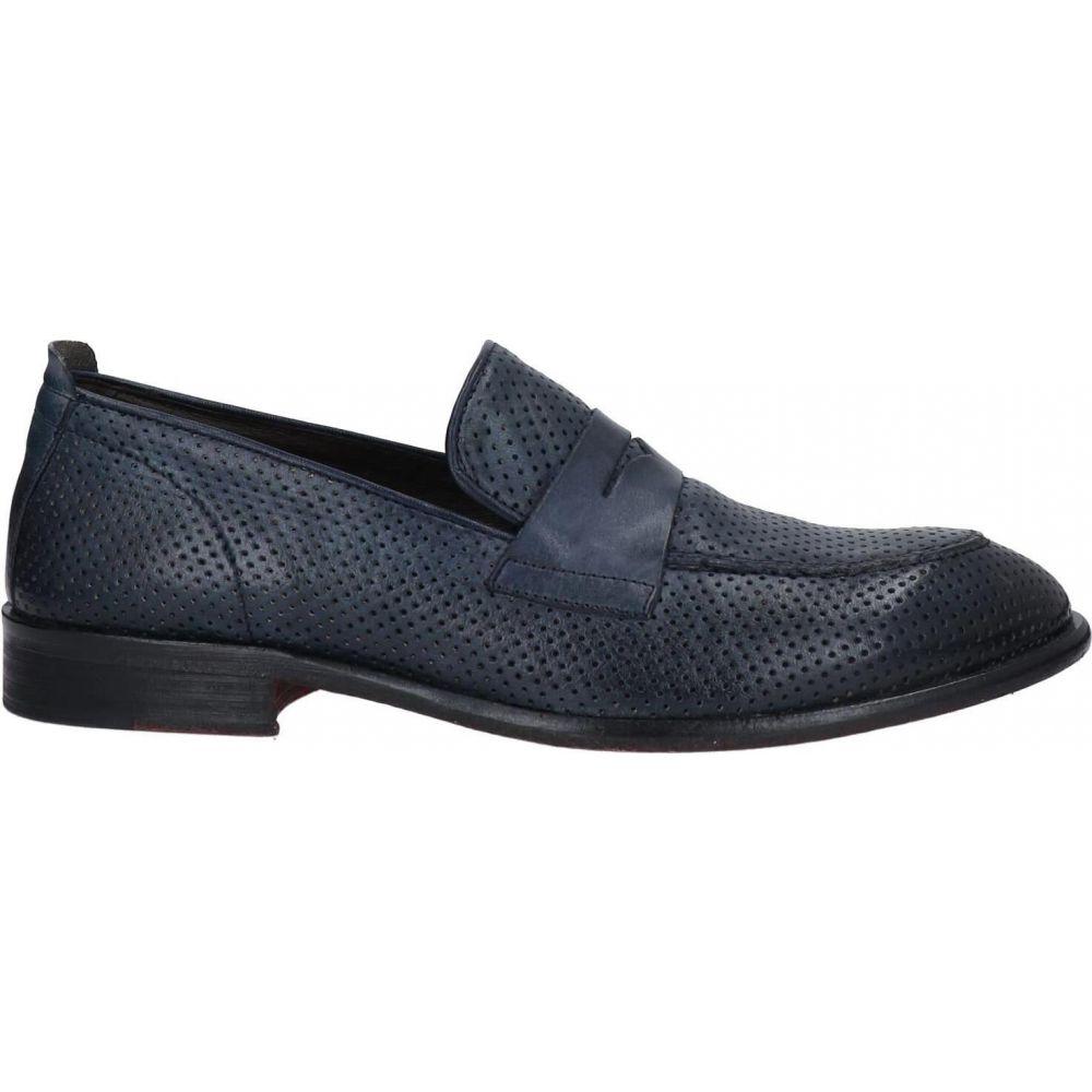 最愛 エクストン EXTON メンズ ローファー シューズ・靴【loafers】Dark blue, 小鹿野町 f543fb8c