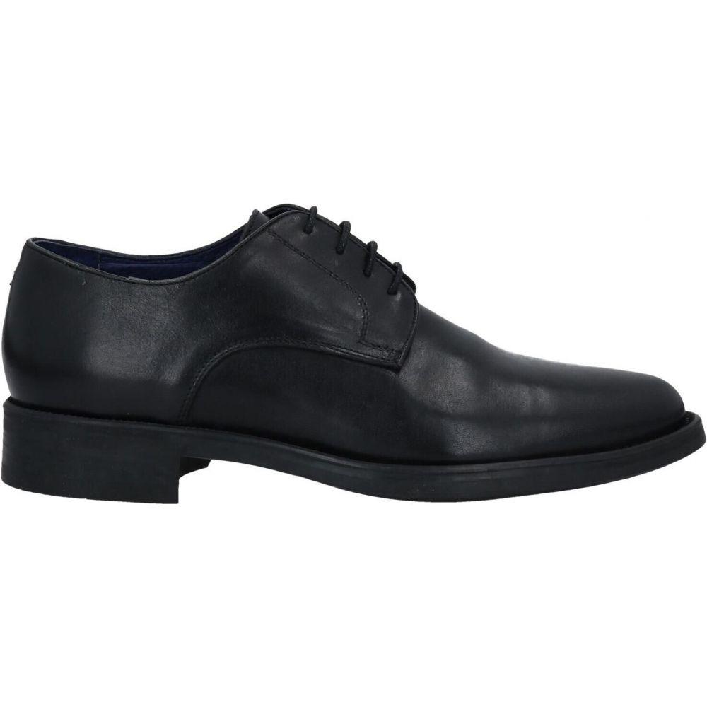 BARBATI 【laced メンズ バルバッティ shoes】Black シューズ・靴