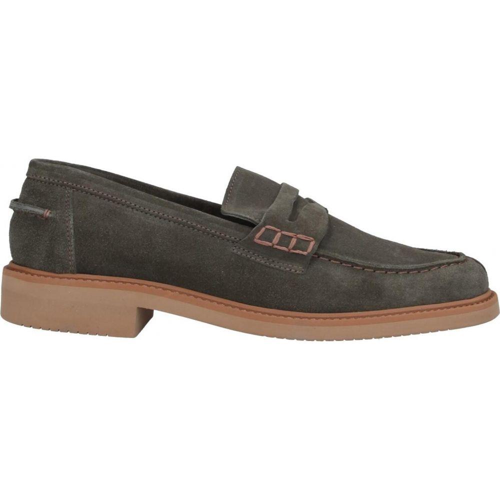 ベストセラー LEREWS メンズ ローファー シューズ・靴【loafers】Green, 表札工房 あかり 74467a6e
