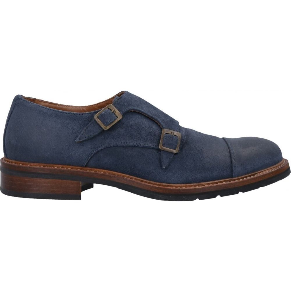 品質のいい BRUNO PARMIGIANI メンズ ローファー シューズ・靴【loafers】Slate blue, シティネットショッピング 4249de43