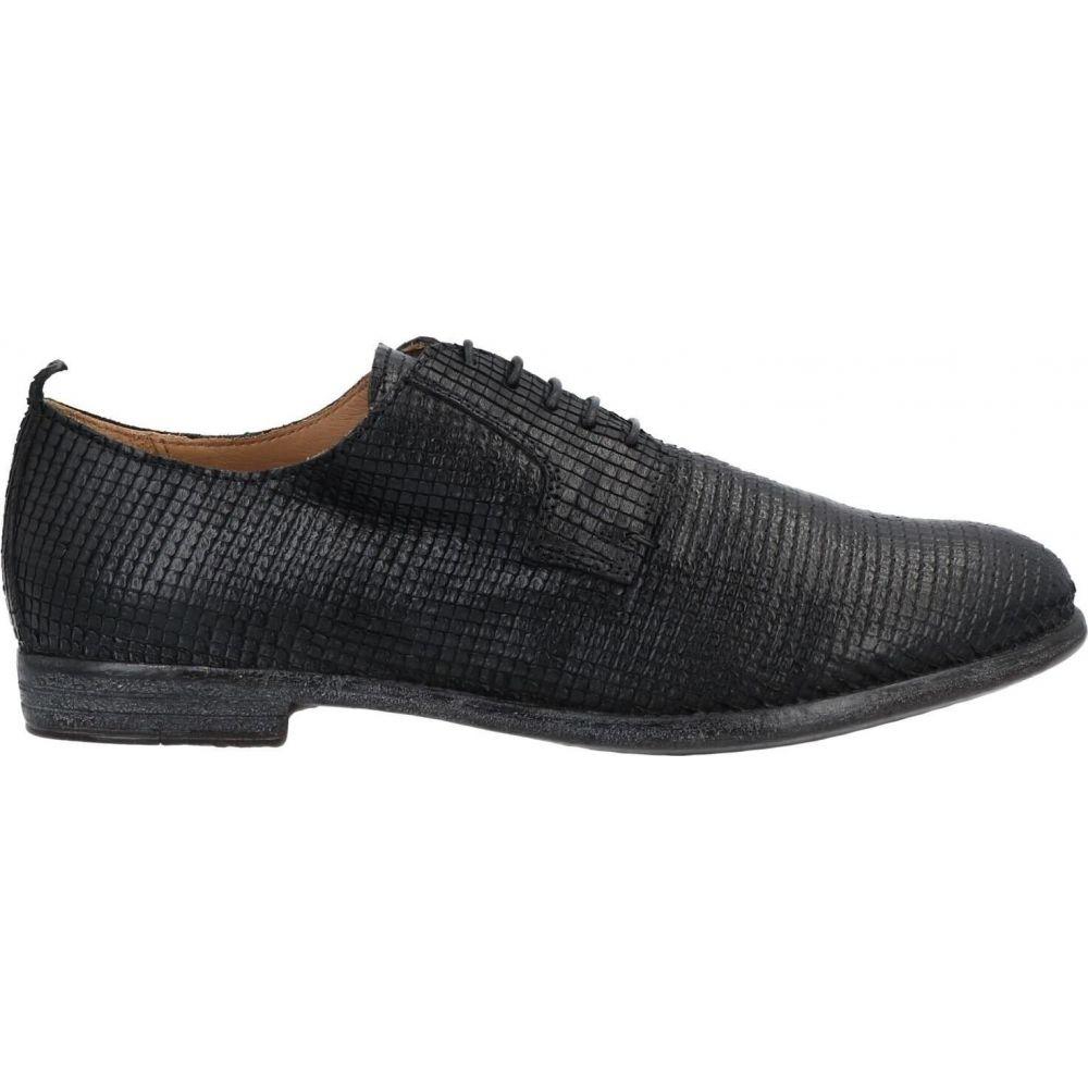 【高額売筋】 モマ MOMA メンズ シューズ・靴 シューズ・靴【laced【laced shoes shoes】Black】Black, 新京清堂:9f03140b --- askamore.com