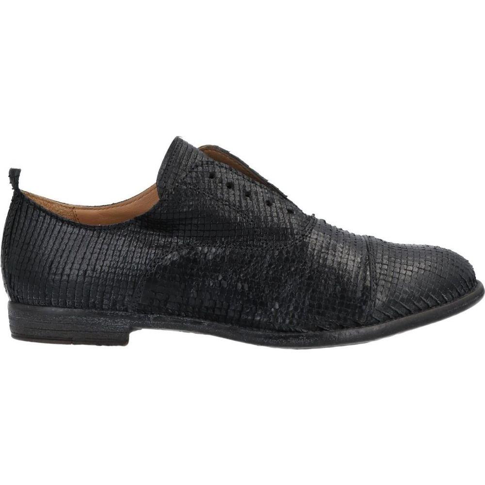 セットアップ モマ MOMA メンズ シューズ・靴 【laced shoes】Black, 布団モール f0aedc48