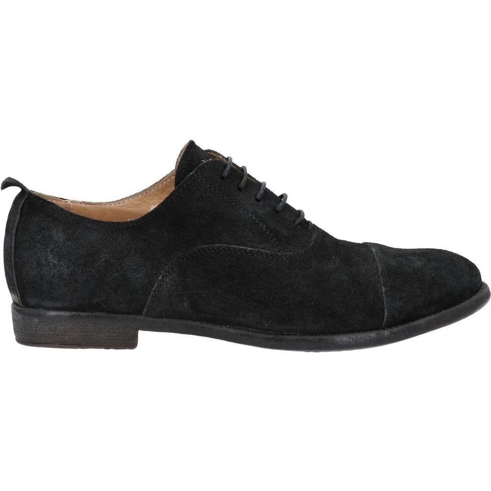 品質満点 モマ MOMA メンズ シューズ・靴 【laced shoes】Black, p.o.s.h. Online Store 255ff256